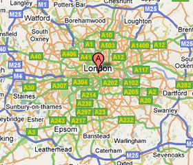 locate 1st Quote AutoScreens on Google map